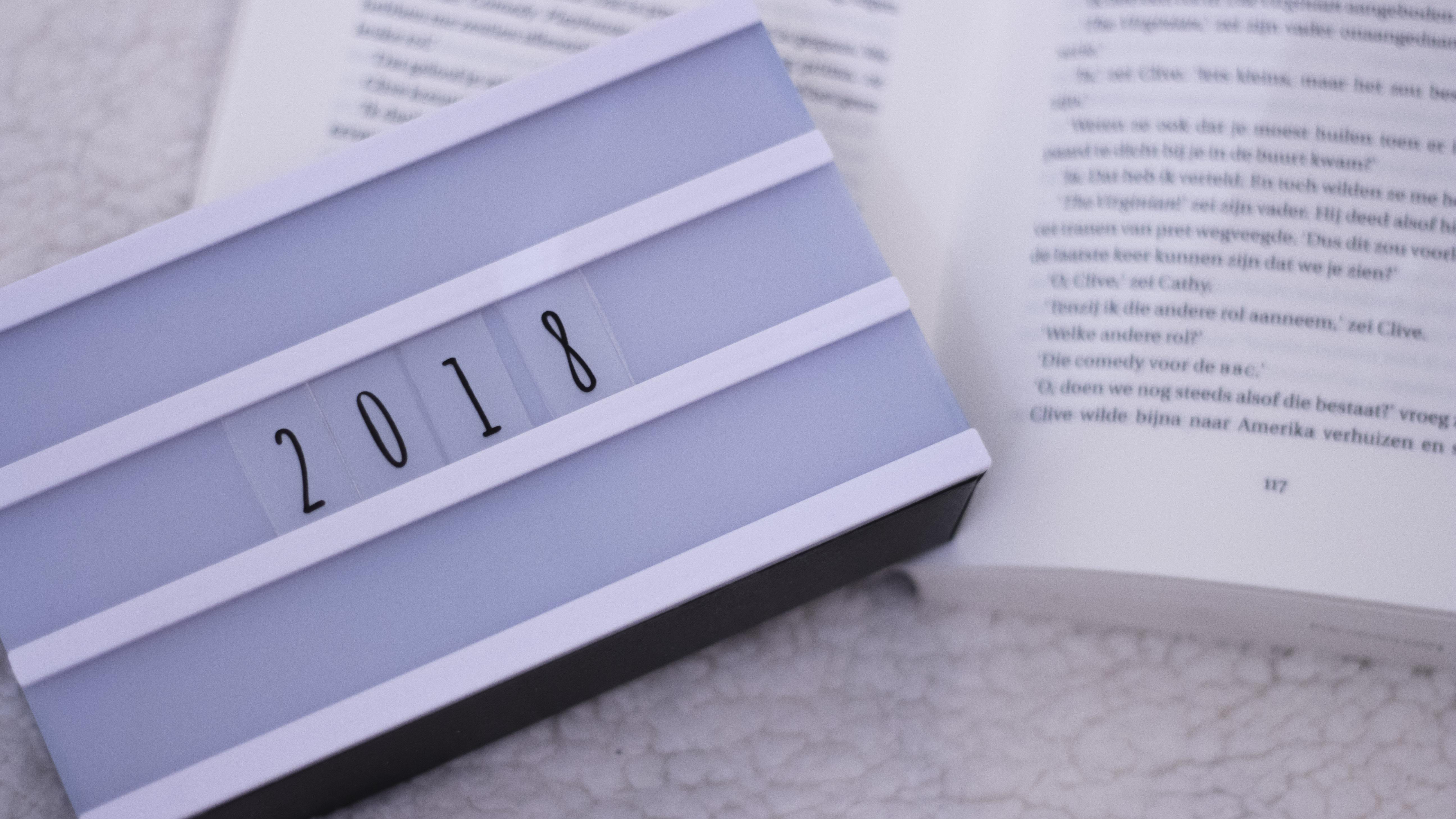 Blogplannen voor 2018