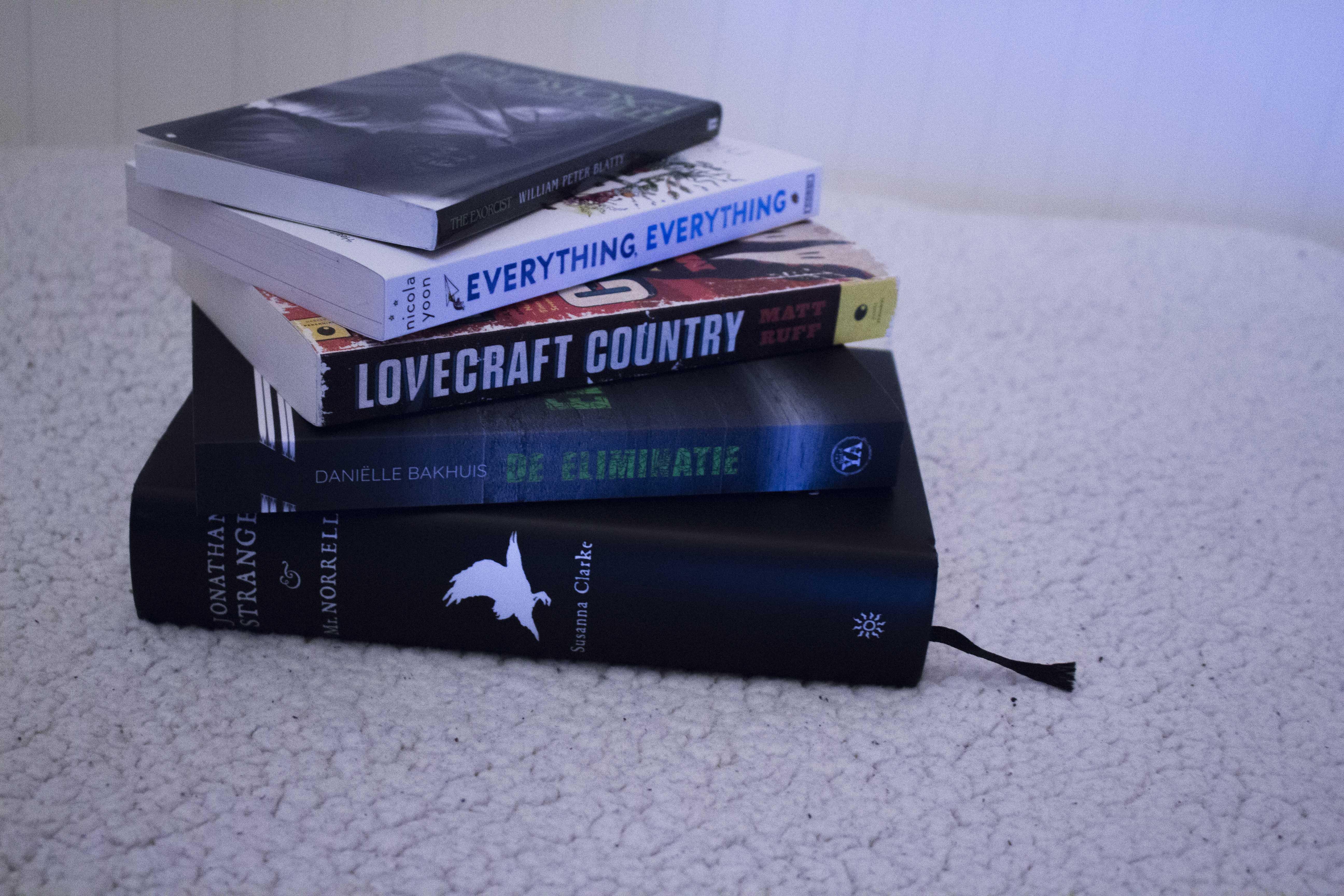 Boeken gekregen voor mijn verjaardag